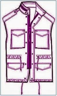center front zipper