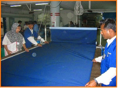 fabric layer inspection