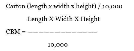CBM_Calculation